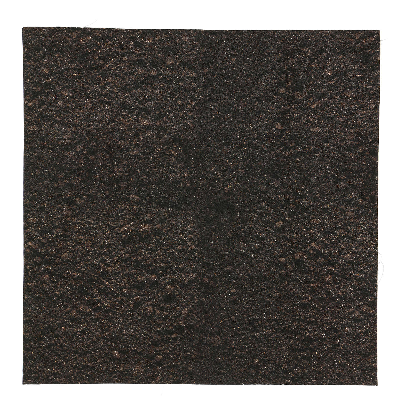 Papel tierra oscura modelable 30x30 cm para belenes 4