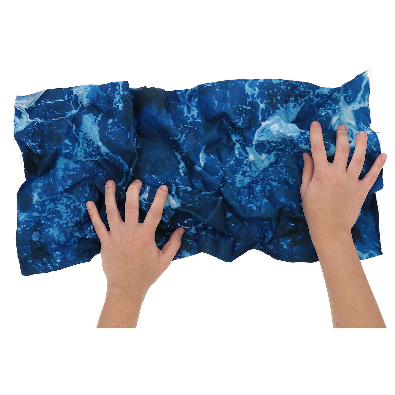 Modellierbares Papier für Krippe Wassereffekt 60x30cm 4