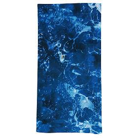 Modellierbares Papier für Krippe Wassereffekt 60x30cm s1