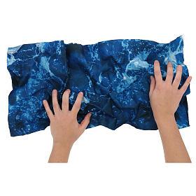 Modellierbares Papier für Krippe Wassereffekt 60x30cm s2