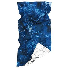 Modellierbares Papier für Krippe Wassereffekt 60x30cm s4