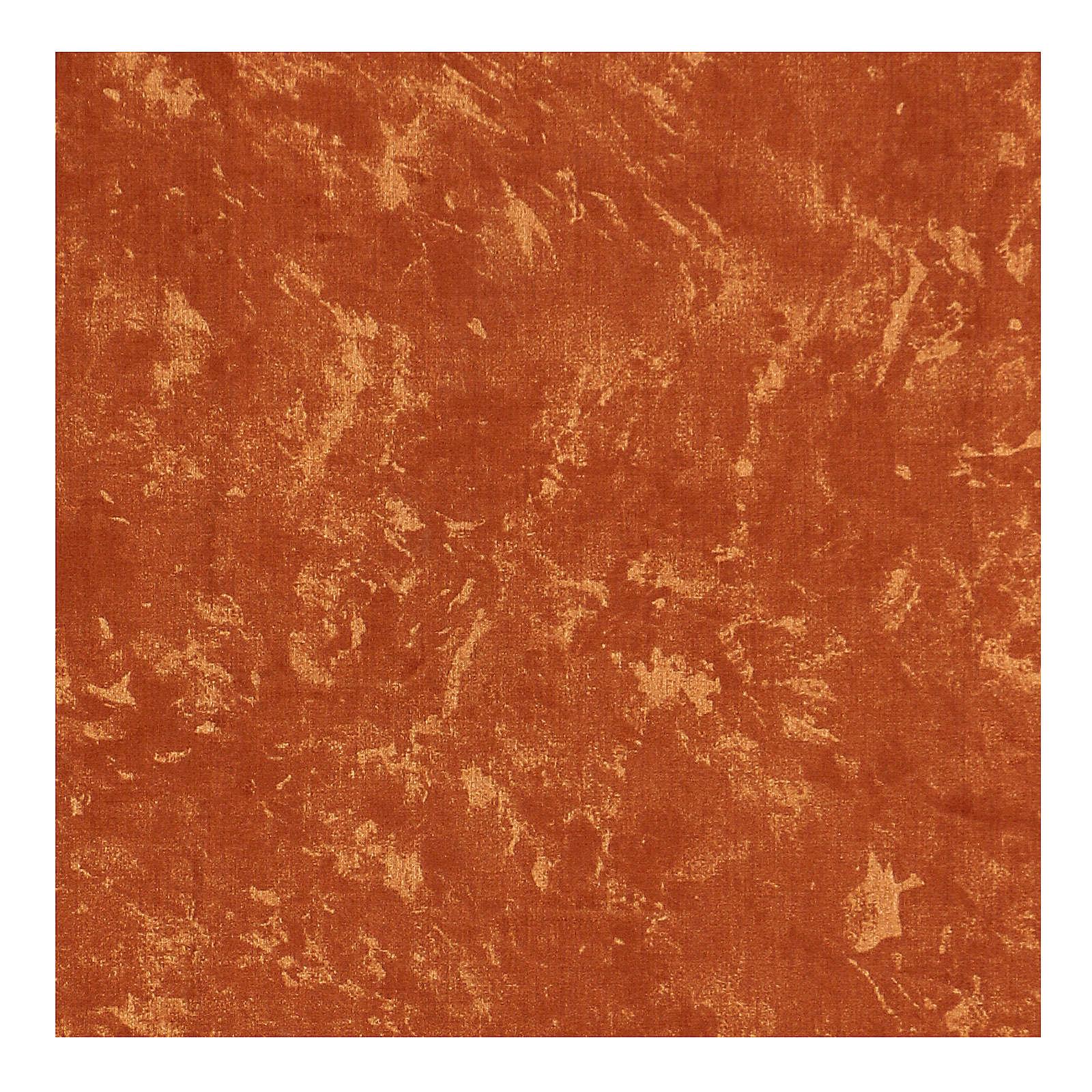 Papel tierra roja modelable agua 60x60 cm para belenes 4