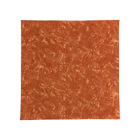 Carta terra rossa modellabile 60x60 cm per presepi s1