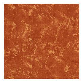 Carta terra rossa modellabile 60x60 cm per presepi s3