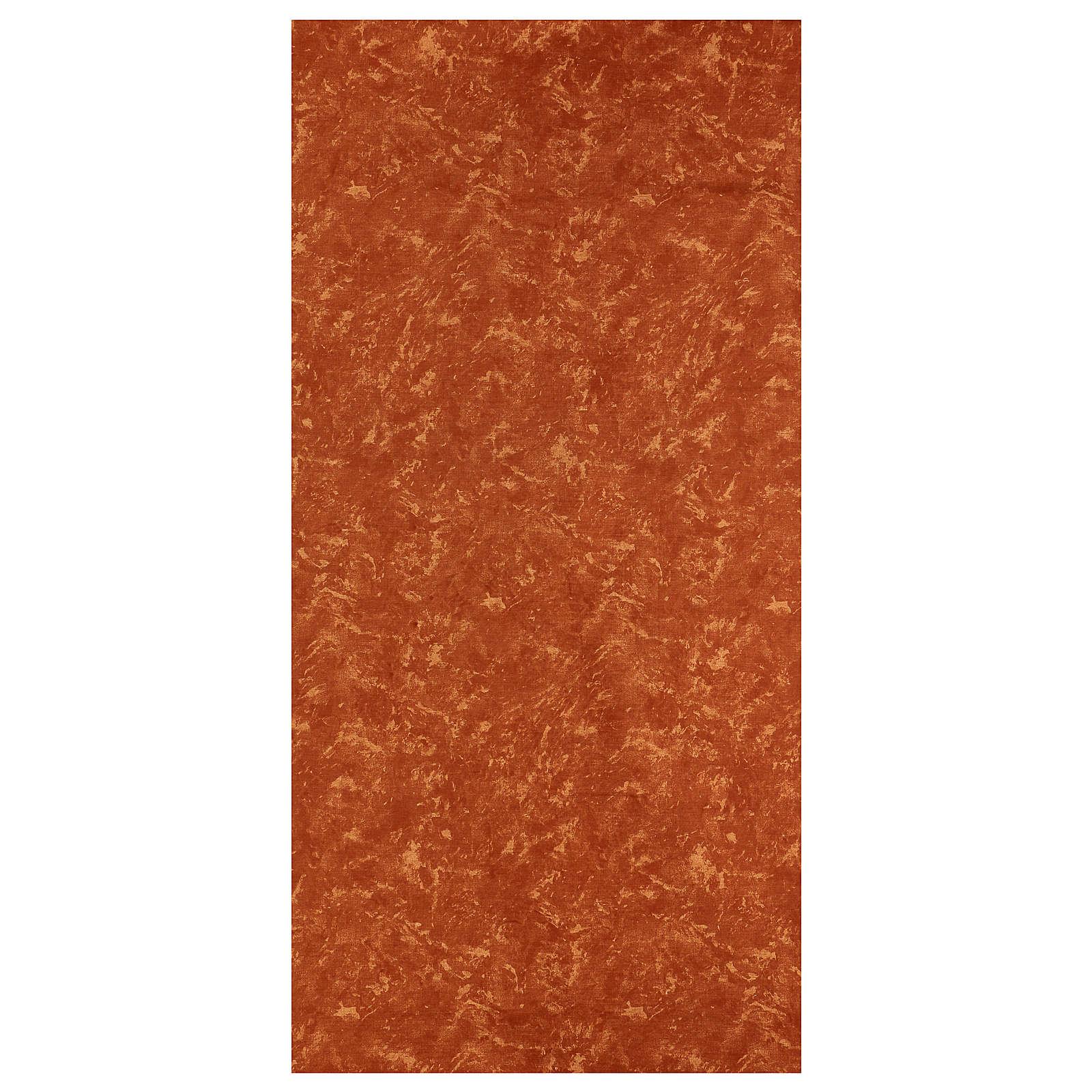 Papel tierra roja 120x60 cm modelable para belenes 4