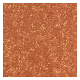 Papel tierra roja 120x60 cm modelable para belenes s3