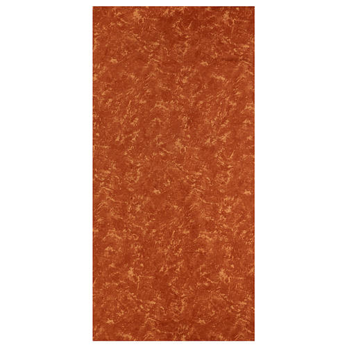 Papel tierra roja 120x60 cm modelable para belenes 1