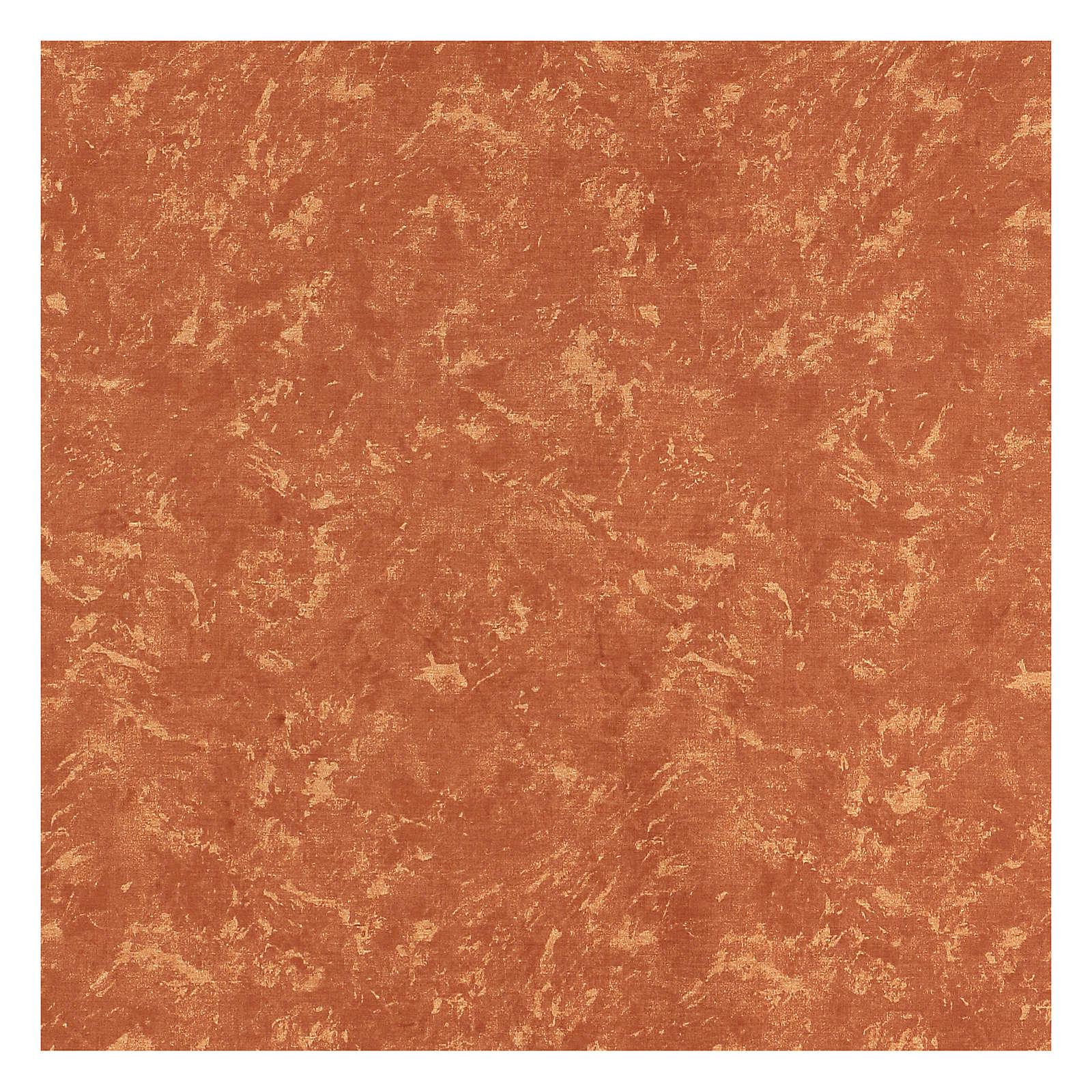 Carta terra rossa 120x60 cm modellabile per presepi 4