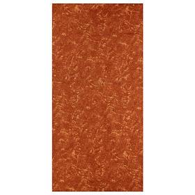 Carta terra rossa 120x60 cm modellabile per presepi s1