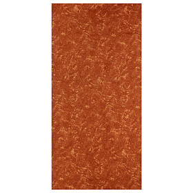 Carta terra rossa modellabile per presepi 120x60 cm s1