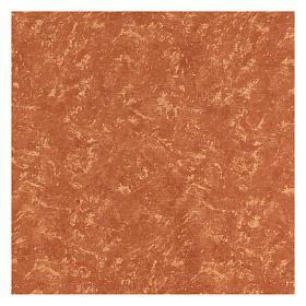Carta terra rossa 120x60 cm modellabile per presepi s3