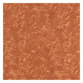Carta terra rossa modellabile per presepi 120x60 cm s3