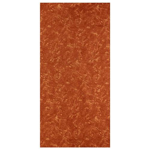 Carta terra rossa 120x60 cm modellabile per presepi 1