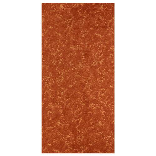 Carta terra rossa modellabile per presepi 120x60 cm 1