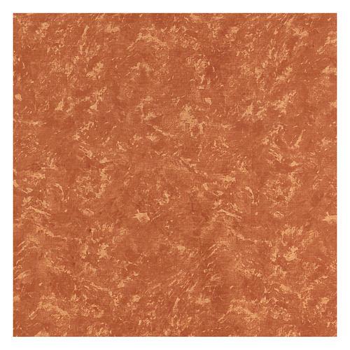 Carta terra rossa 120x60 cm modellabile per presepi 3