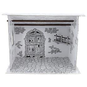 Cabane crèche en carton 3D DIY s1