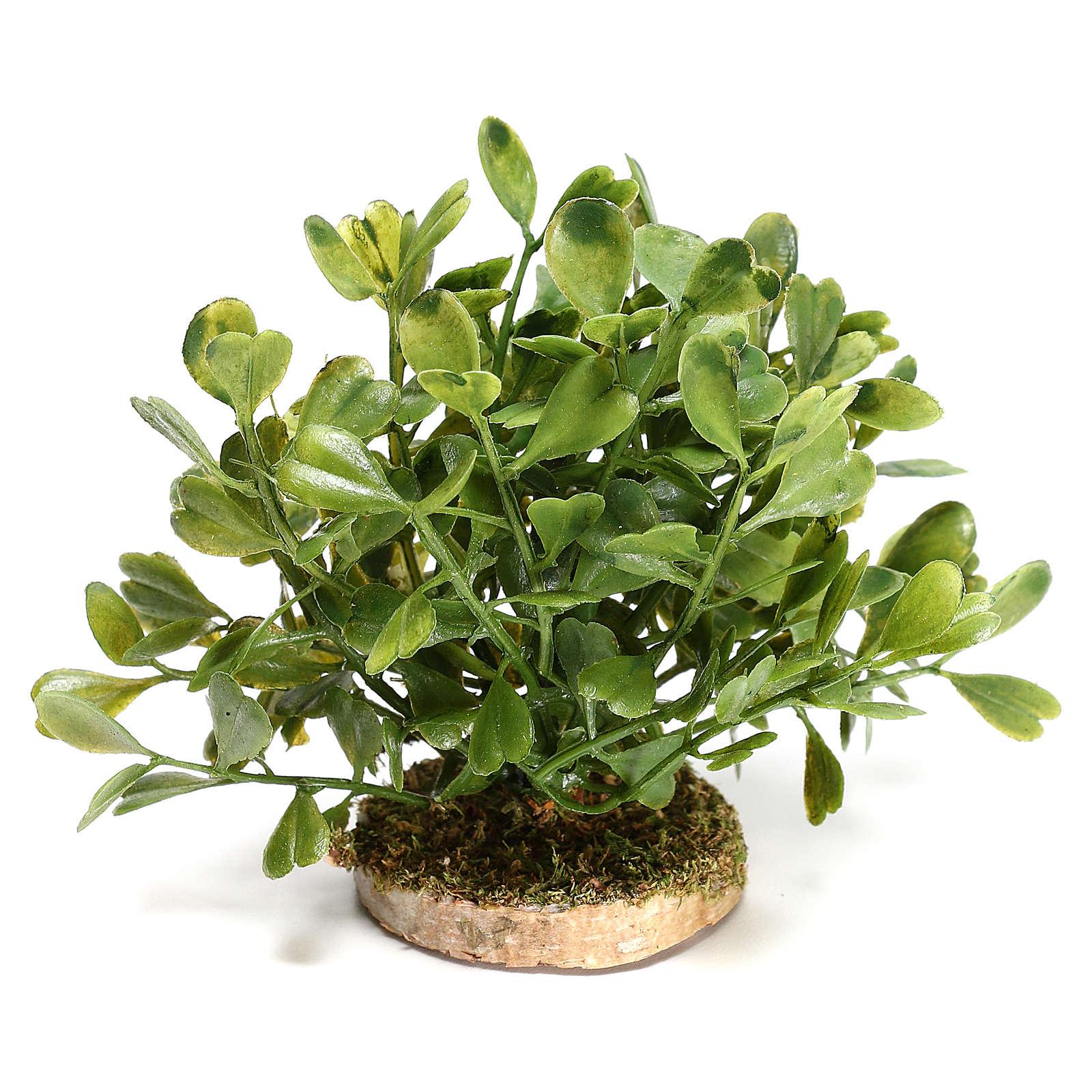 Arbusto 5x10x5 cm para bricolagem de presépio com figuras de 10-12 cm de altura média 4