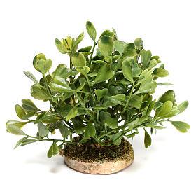 Arbusto 5x10x5 cm para bricolagem de presépio com figuras de 10-12 cm de altura média s1