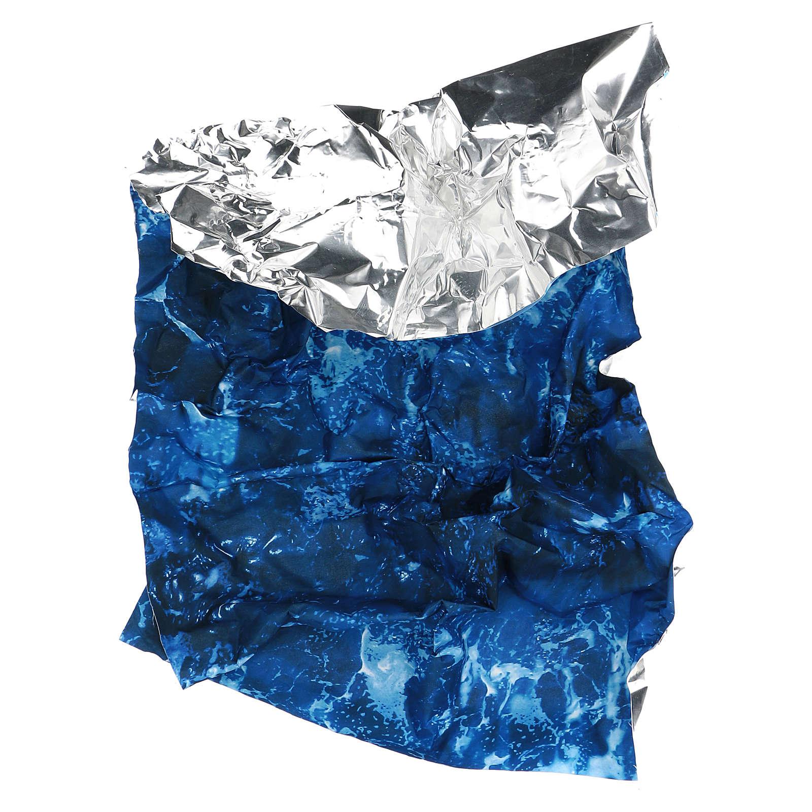 Carta da parati modellabile acqua 120x60 cm presepe fai da te 4