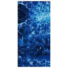 Paisagens, Cenários de Papel e Painéis para Presépio: Papel para modelar água 120x60 cm