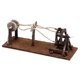 Attrezzo per lavoratore di corde presepe 10 cm s2