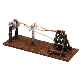 Rope maker equipment Nativity scenes 12 cm s2