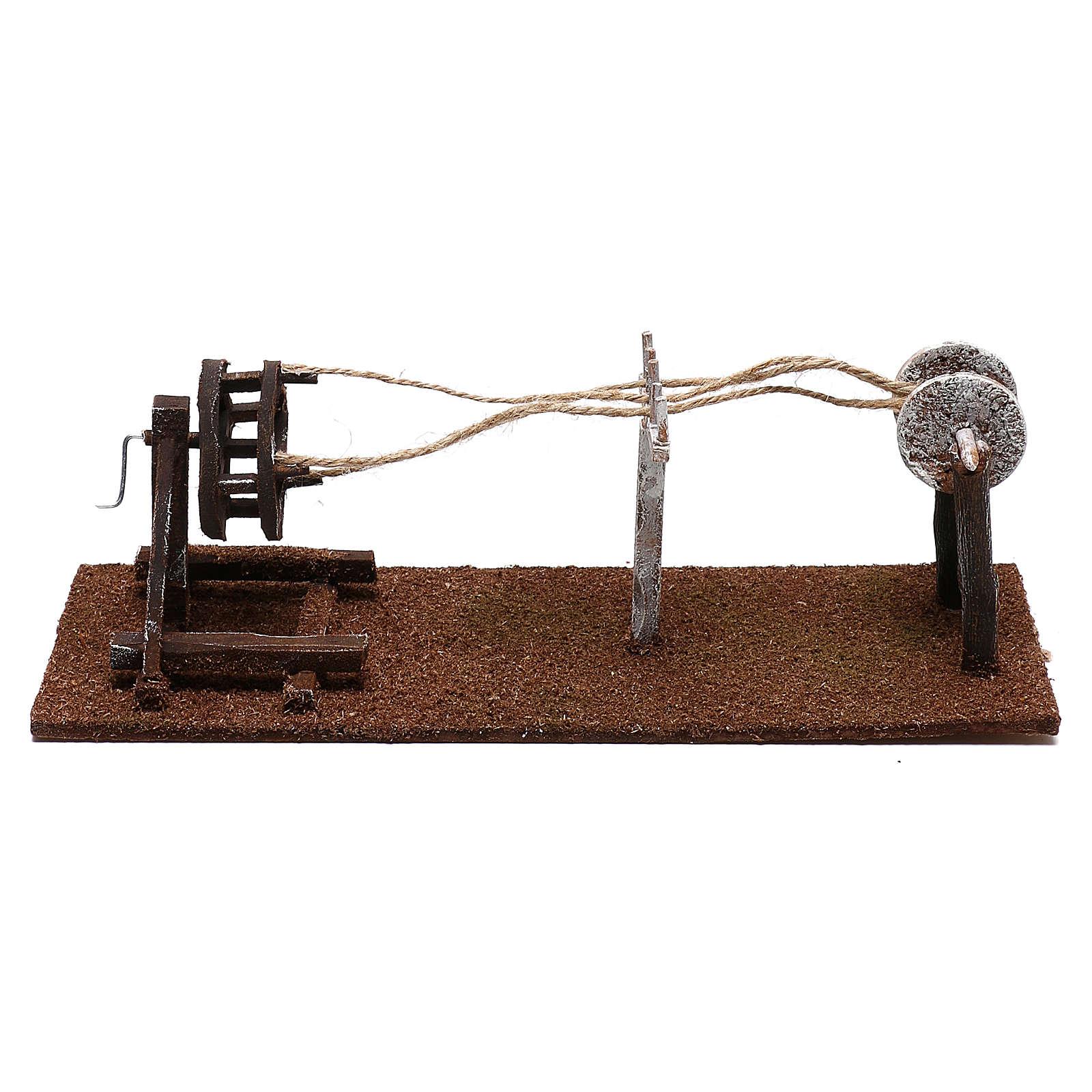 Herramientas cordelero belenes 12 cm hecho con bricolaje 4