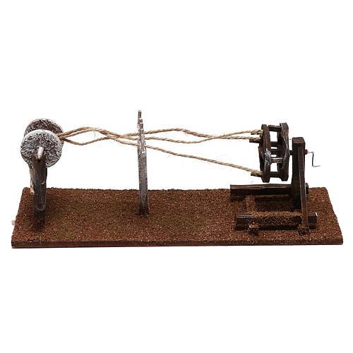 Herramientas cordelero belenes 12 cm hecho con bricolaje 1