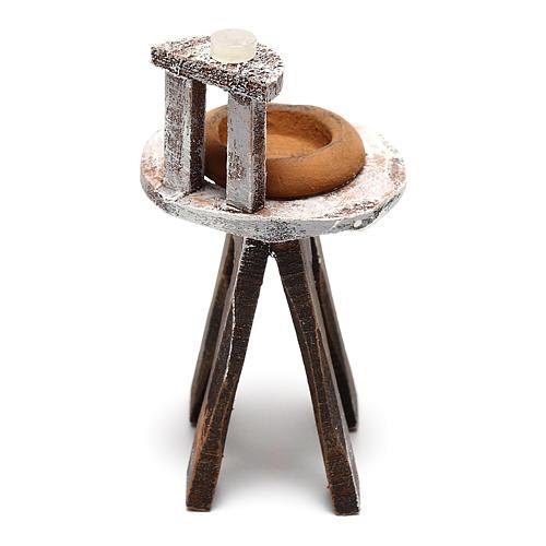 Lavabo barbero belén 8 cm hecho con bricolaje 4