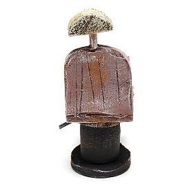 Chaise barbier pour bricolage crèche 12 cm s4