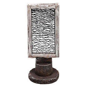 Espejo rectangular con base belén 10 cm s1