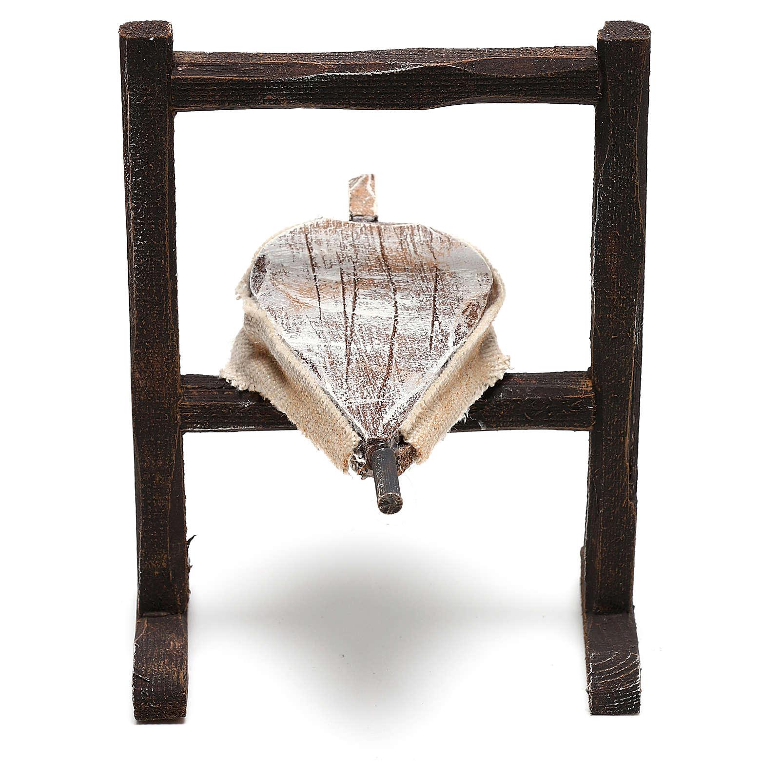 Forja del herrero belenes de 10 cm hecho con bricolaje 4