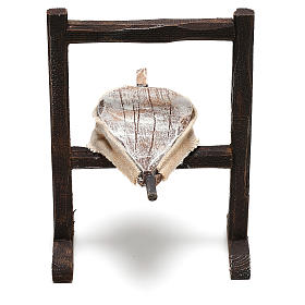 Forja del herrero belenes de 10 cm hecho con bricolaje s2
