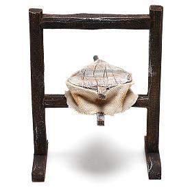 Forja del herrero belenes de 10 cm hecho con bricolaje s3