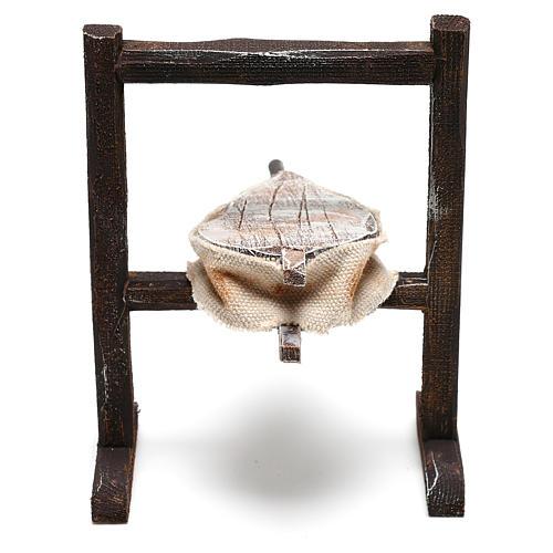 Forja del herrero belenes de 10 cm hecho con bricolaje 3