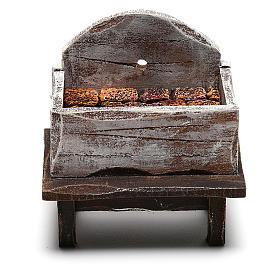 Forge pour forgeron bricolage crèche de 10 cm s4