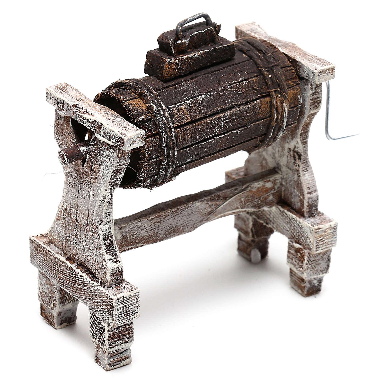 Zubehör für Sahne Holz für 12cm Krippenfiguren 4