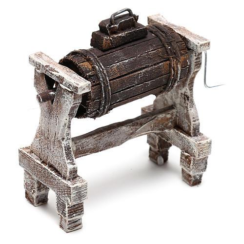 Zubehör für Sahne Holz für 12cm Krippenfiguren 2