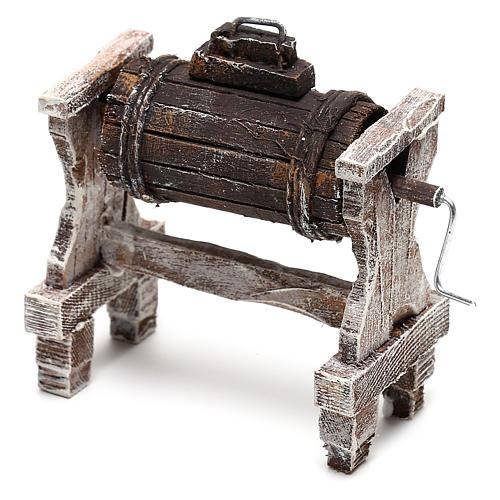 Zubehör für Sahne Holz für 12cm Krippenfiguren 3