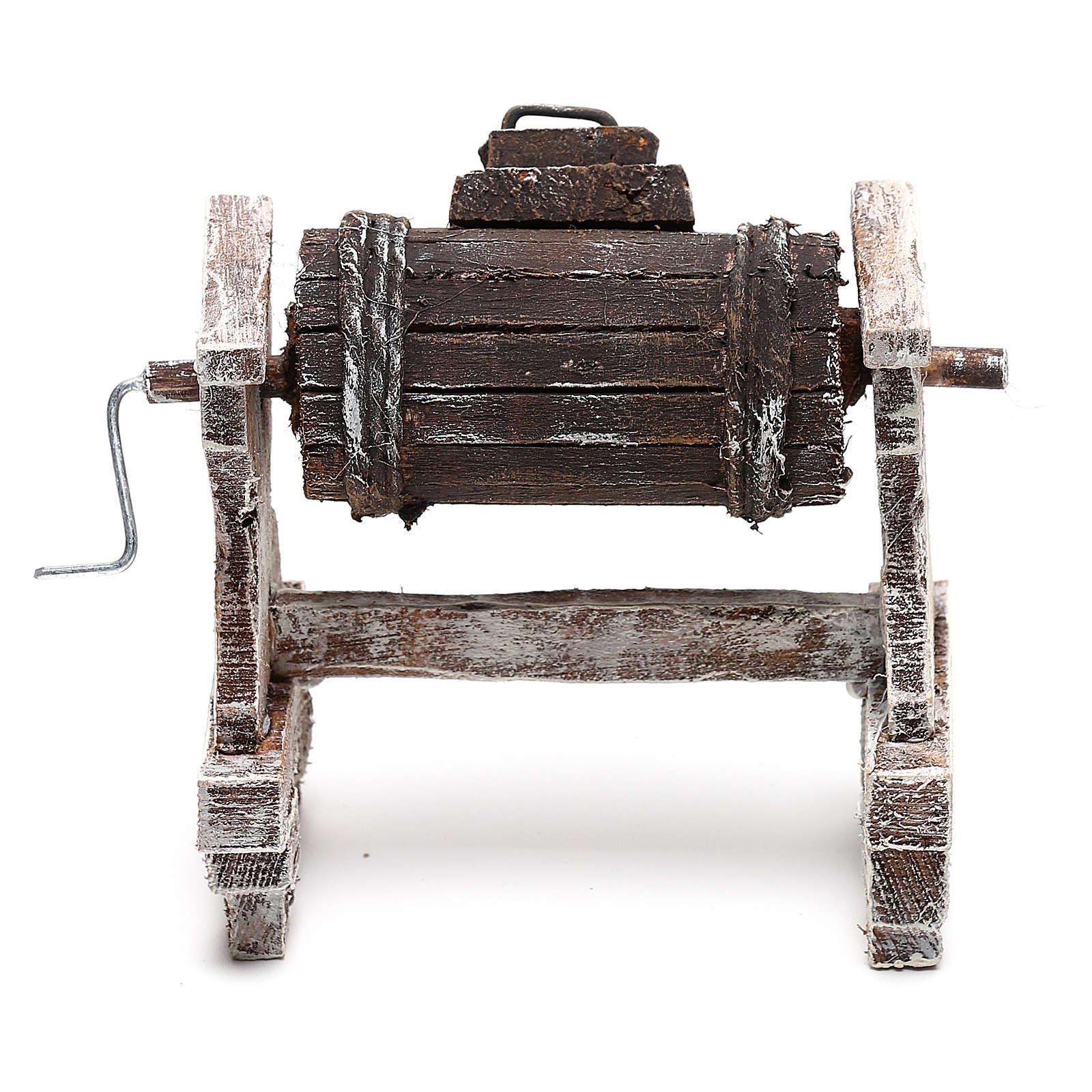 Maszynka do ubijania śmietany szopki 12 cm zrób to sam 4