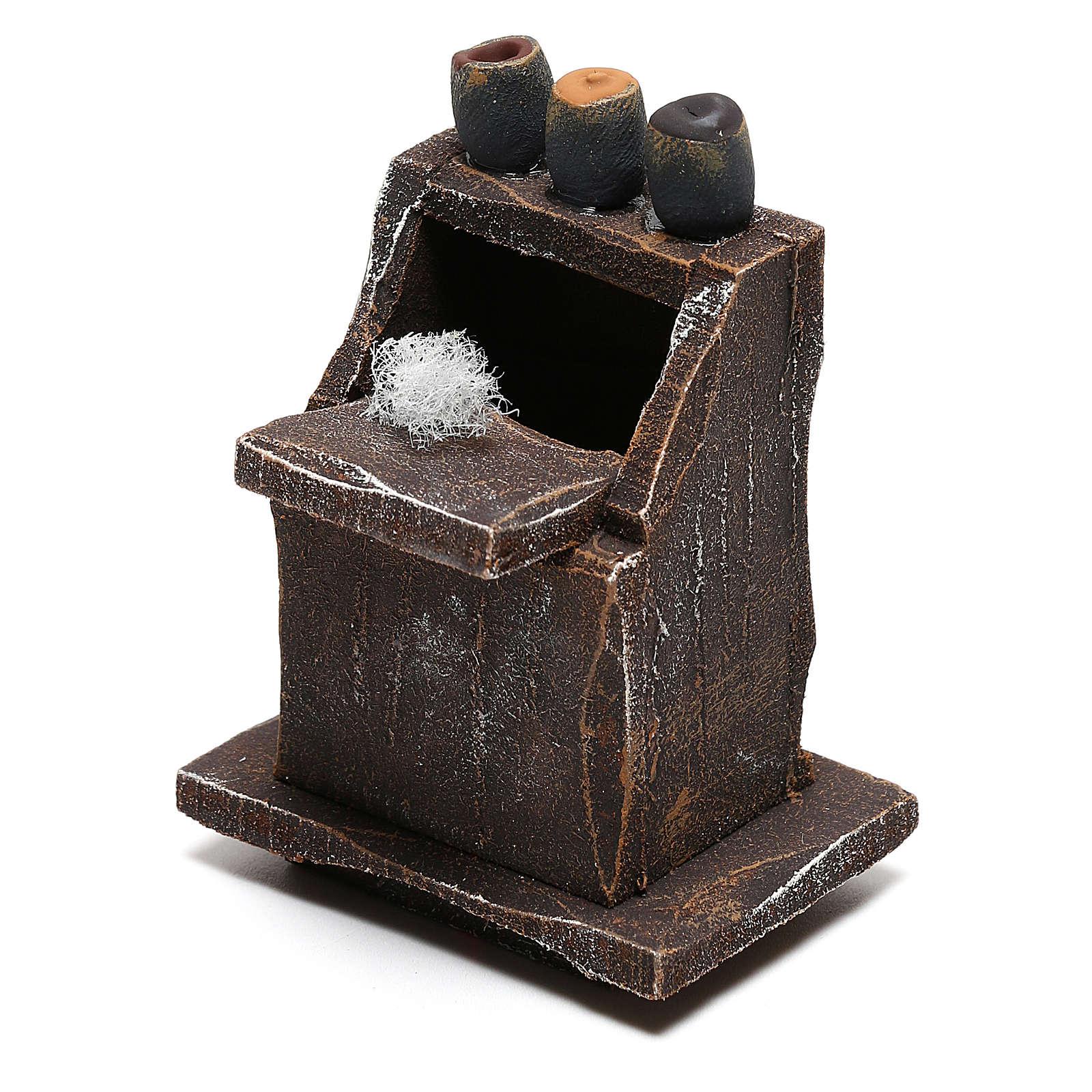 Mueble para limpiabotas belén 8 cm hecho con bricolaje 4