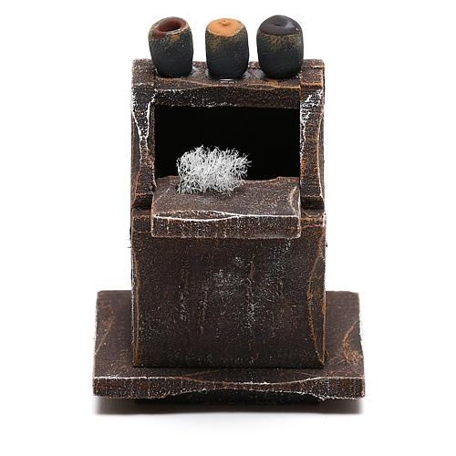 Mueble para limpiabotas belén 8 cm hecho con bricolaje 1