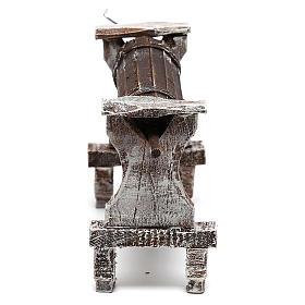 Wooden churn for Nativity scene of 12 cm s4