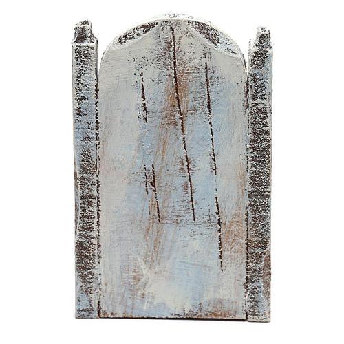 Silla madera limpiabotas belén 10 cm hecho con bricolaje 4