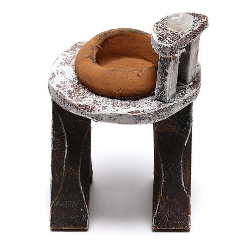 Lavabo madera barbero belén 10 cm hecho con bricolaje 3