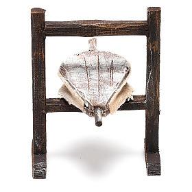 Forja herrero madera belén 10 cm s2