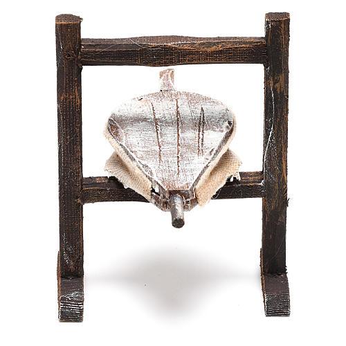 Forja herrero madera belén 10 cm 2