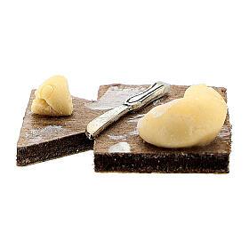 Tabla de cortar cuchillo y queso belén napolitano 12 cm s3