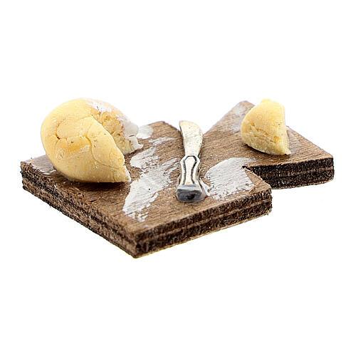 Tabla de cortar cuchillo y queso belén napolitano 12 cm 2