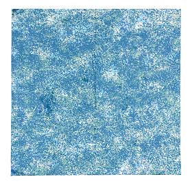 Paisagens, Cenários de Papel e Painéis para Presépio: Papel mar impermeável para modelar 35x35 cm